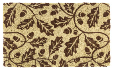 Acorns Handwoven Coconut Fiber Doormat