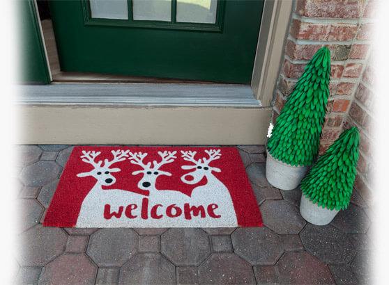 Holiday Doormats